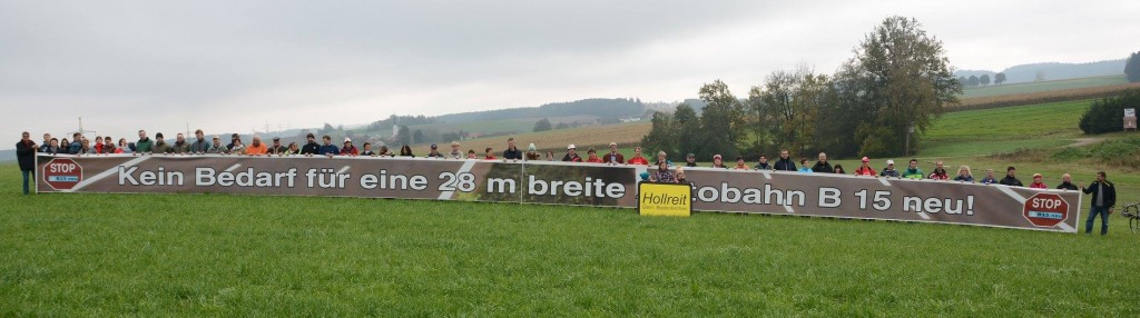 Banner in Hollreit