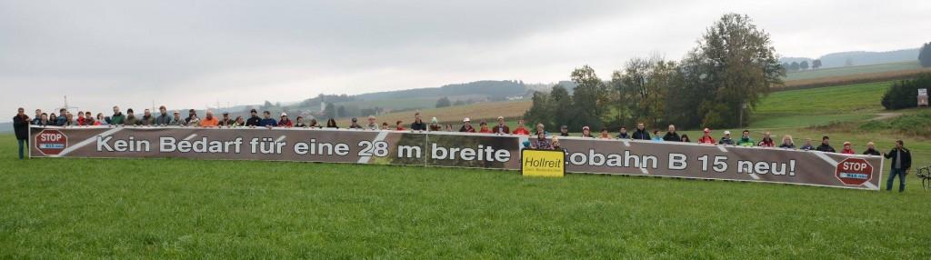 Banner in Hollreit